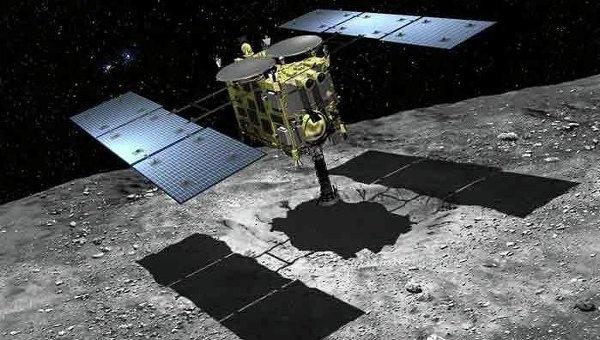 Зонд «Хаябуса-2» завершил проверку инструментов и начал разгон