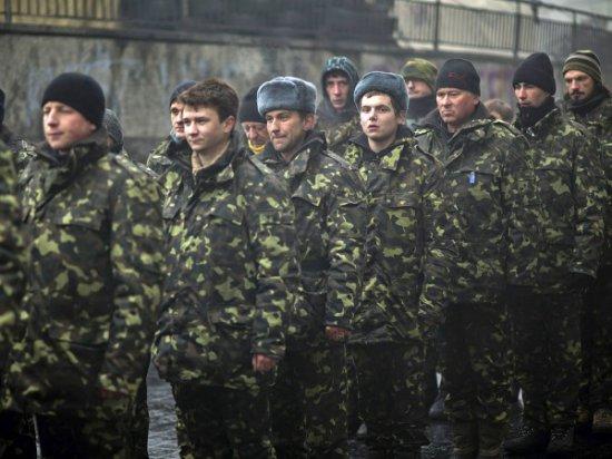 Массовые уклонения от воинской службы заставили Киев создать специальные  вербовочные центры