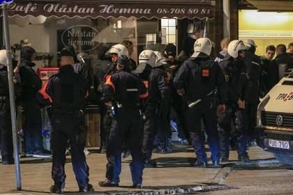 В шведском ресторане посетителей расстреляли из автомата Калашникова